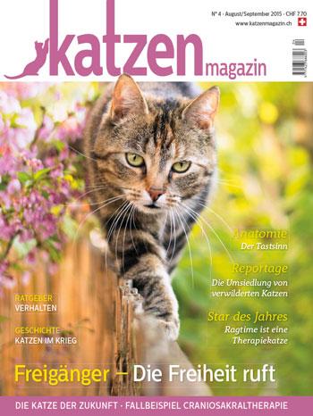 Katzen Magazin Nr. 04/2015