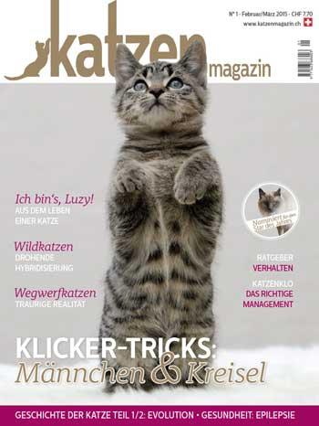 Katzen Magazin Ausgabe 1/2015